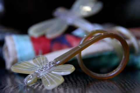 DRAGON FLY NAPKIN RINGS