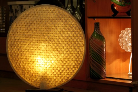 DULL GOLD LAMP