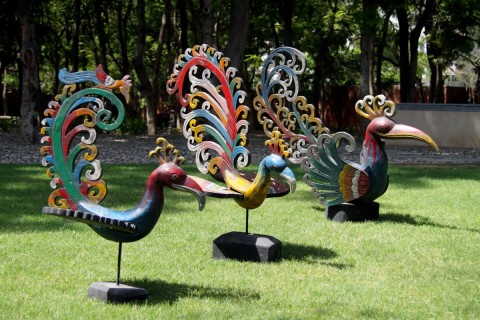 THE PEACOCK FANFARE